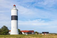 Lighthouse on the coast at oland in Sweden