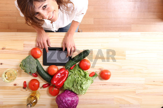 Cooking with a Tablet PC