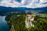 Slovenia Beautiful Nature - resort Lake Bled.