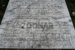 Denkmal für ermordete Muslims im Bosnienkrieg, Bosnien