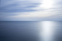 Gardasee, Langzeitbelichtung, als Hintergrund