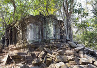 Beng Mealea temple  ruin in the Koh Ker complex