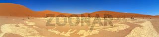 Dead Vlei im Namib Naukluft Nationalpark in Namibia