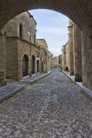 Street of Knights, Rhodes Old City, Greece