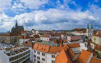 Brno cityscape in Czech Republic