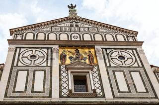 pediment of Basilica San Miniato al Monte