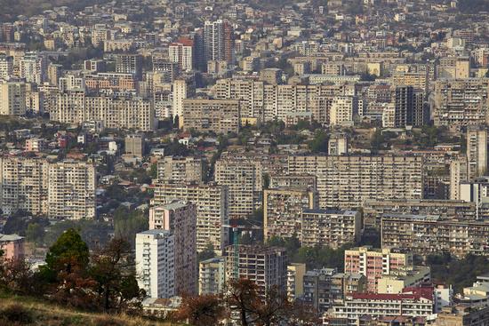 Stadtansicht Tiflis, Georgien