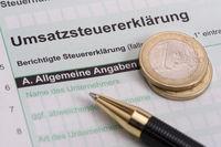 Umsatzsteuererklärung für Finanzamt