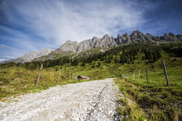 Alpine Landscape at Muehlbach am Hochkoenig in Summer