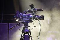 Cameraman at a concert