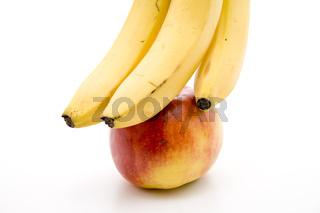 Banane mit Nektarine
