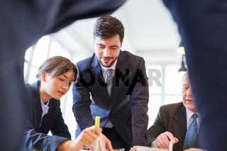 Business Team und Berater