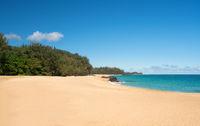 Lumahai Beach Kauai on calm day