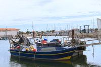 Harbor Gruissan in France