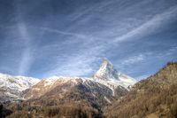 Famous Matterhorn in Switzerland