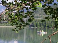 Fischerboot auf dem Weissensee