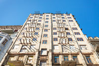 restoration of old apartment house in Kiev city