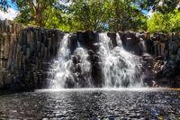 Rochester Falls in Mauritius