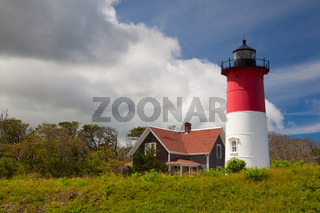 Nauset Light Lighthouse in Eastham, USA