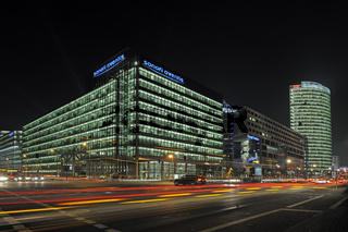 Gebaeudekomplex des Sony Center, Potsdamer Platz, Berlin, Deutschland, Europa
