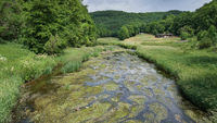 Creek, Landscape of Eifel, Germany