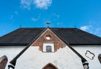 Roof of cathedral in Porvoo, Finland
