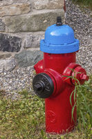Colourful Street Fire Hydrant, Quebec City, Canada