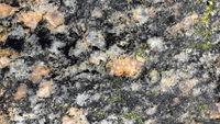Polierte Oberfläche eines Findlings, Makroaufnahme