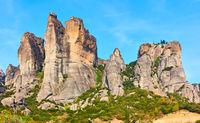 Rocks in Meteora