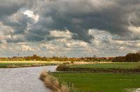 Am Larrelter Tief in Ostfriesland