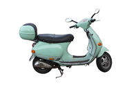 green italien scooter