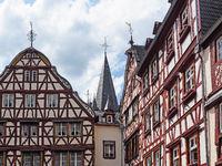 Fachwerkhäuser in der Altstadt von Bernkastel-Kues