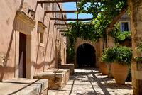 Arkadi Monastery architecture detail