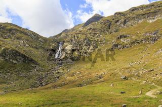 Spronser Tal in Südtirol, Italien, Spronser valley in south Tyrol, Italy
