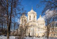 Holy Trinity Cathedral in the Alexander Nevsky Lavra