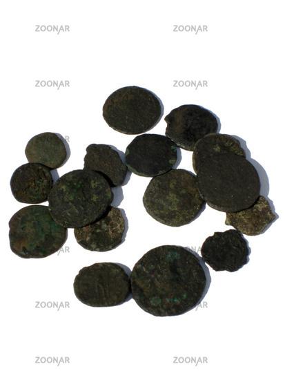 Foto Antike Römische Münzen Bild 782606