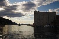 Im Hafen von Dubrovnik. Kroatien