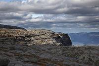 Über dem Lysefjord