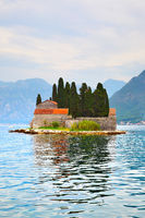Island in the Kotor Bay