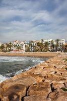 Sitges Seaside Resort Town in Spain