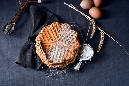 fresh and tasty Waffle