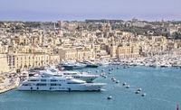 Marina at Kalkara, View From Grand Harbour, Malta