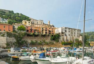 Porto Ercole, Küste Stadt Maremma in der Toskana, Italien
