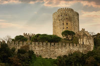 Rumeli Fortress in Istanbul, Turkey.