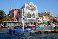 Hochbetrieb am Canal Grande,  Venedig