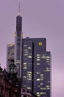Commerzbanktower im Winter
