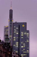 Commerzbanktower im Winter