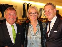 Stephan Papenbreer, Katrin Papenbreer und Sebastian Papenbreer bei 25 Jahre Papenbreer Magdeburg, Große Internationale Fashionshow am 20.09.2017 in Magdeburg