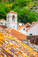 Roofs of Old town of Kotor
