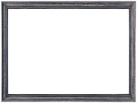 Grey Photo Frame Cutout